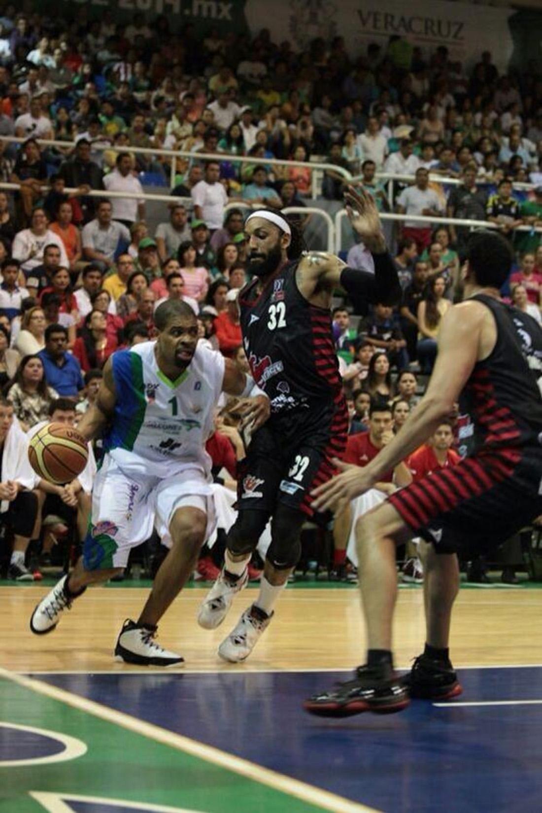 H ROJOS VS XALAPA en viva basquet