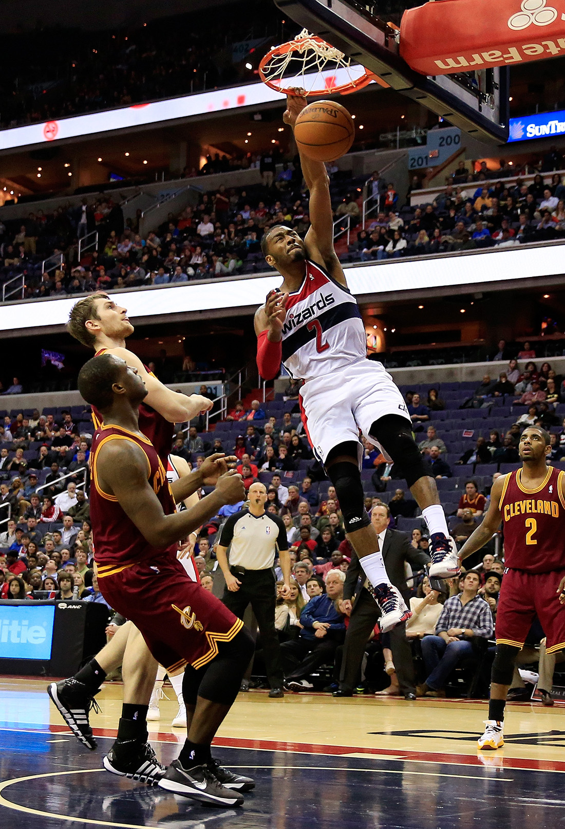 John Wall de Washington Wizards en viva basquet