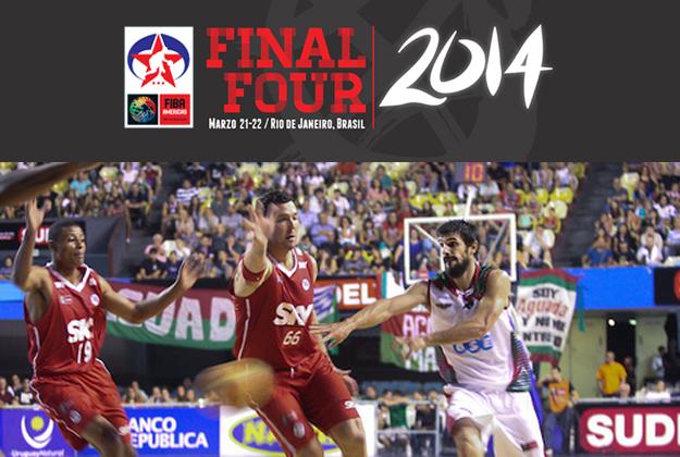 LIGA LAS AMERICAS final four en viva basquet