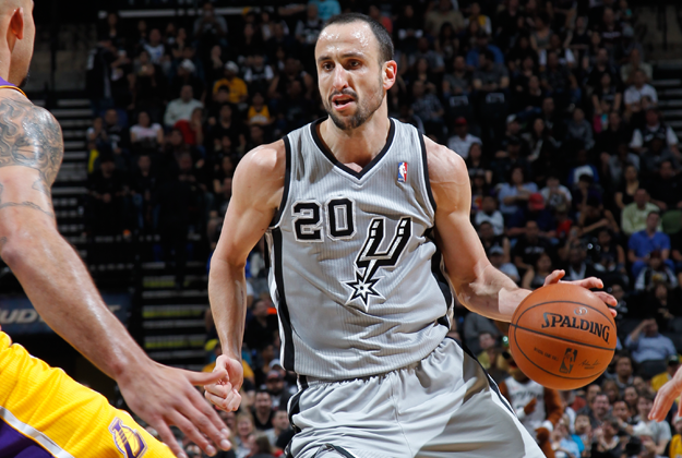 Manu Ginóbili de San Antonio Spurs en viva basquet