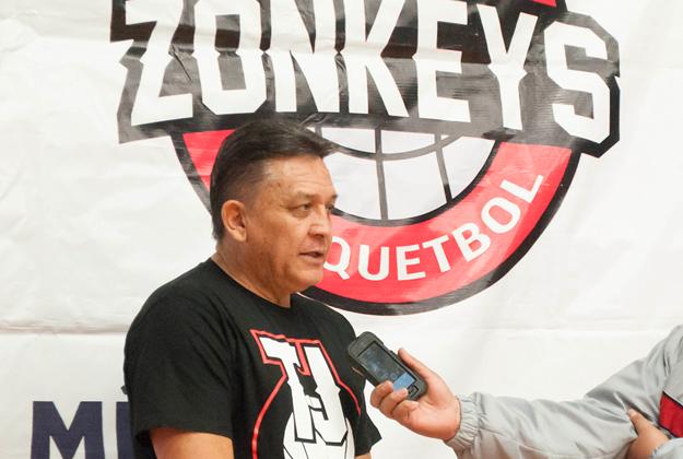 ZONKEYS de tijuana en viva basquet