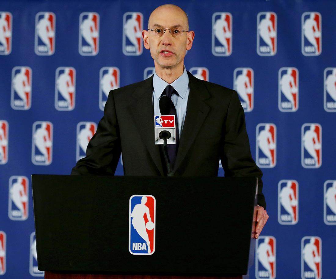 NBA Commissioner Adam Silver Press Conference en viva basquet en viva basquet
