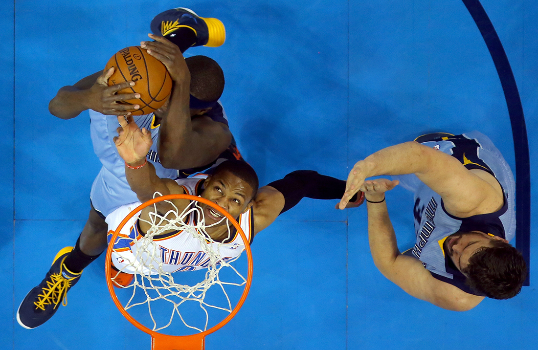 Memphis Grizzlies v Oklahoma City Thunder - Game Five en viva basquet