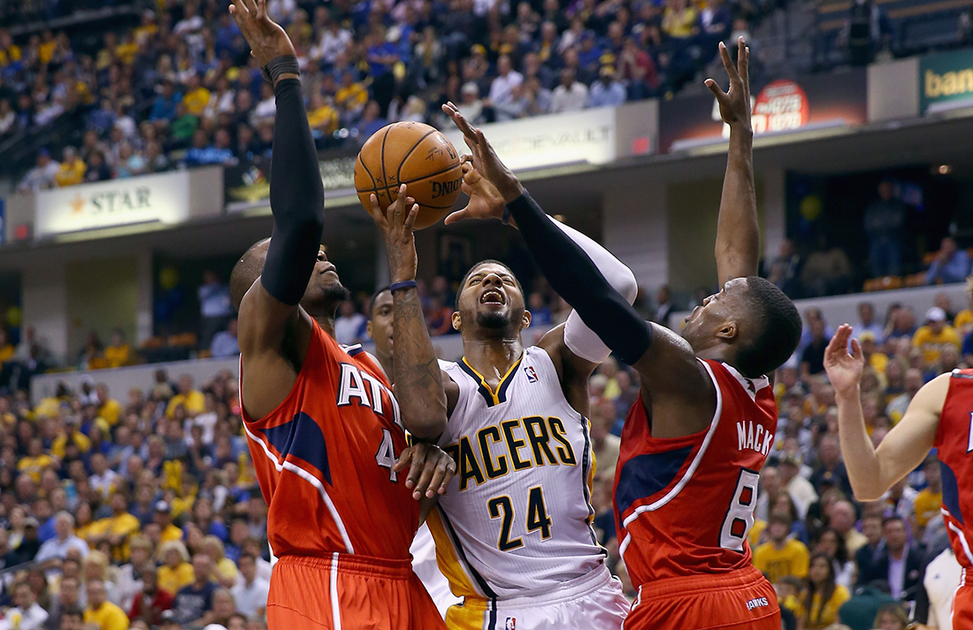 Atlanta Hawks v Indiana Pacers - Game Five playoffs en viva basquet