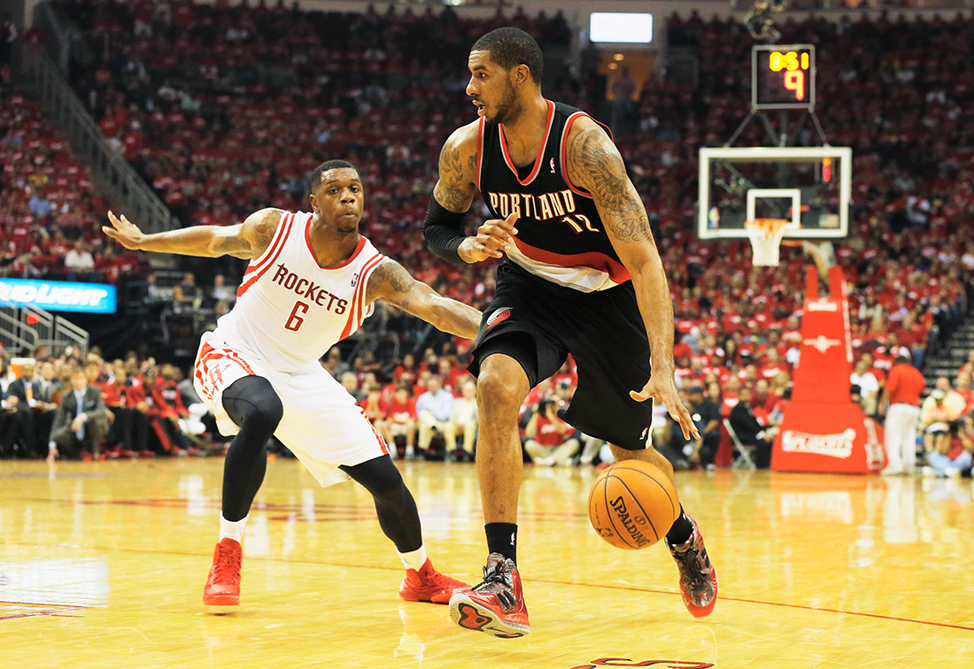Portland Trail Blazers v Houston Rockets - Game Two en viva basquet