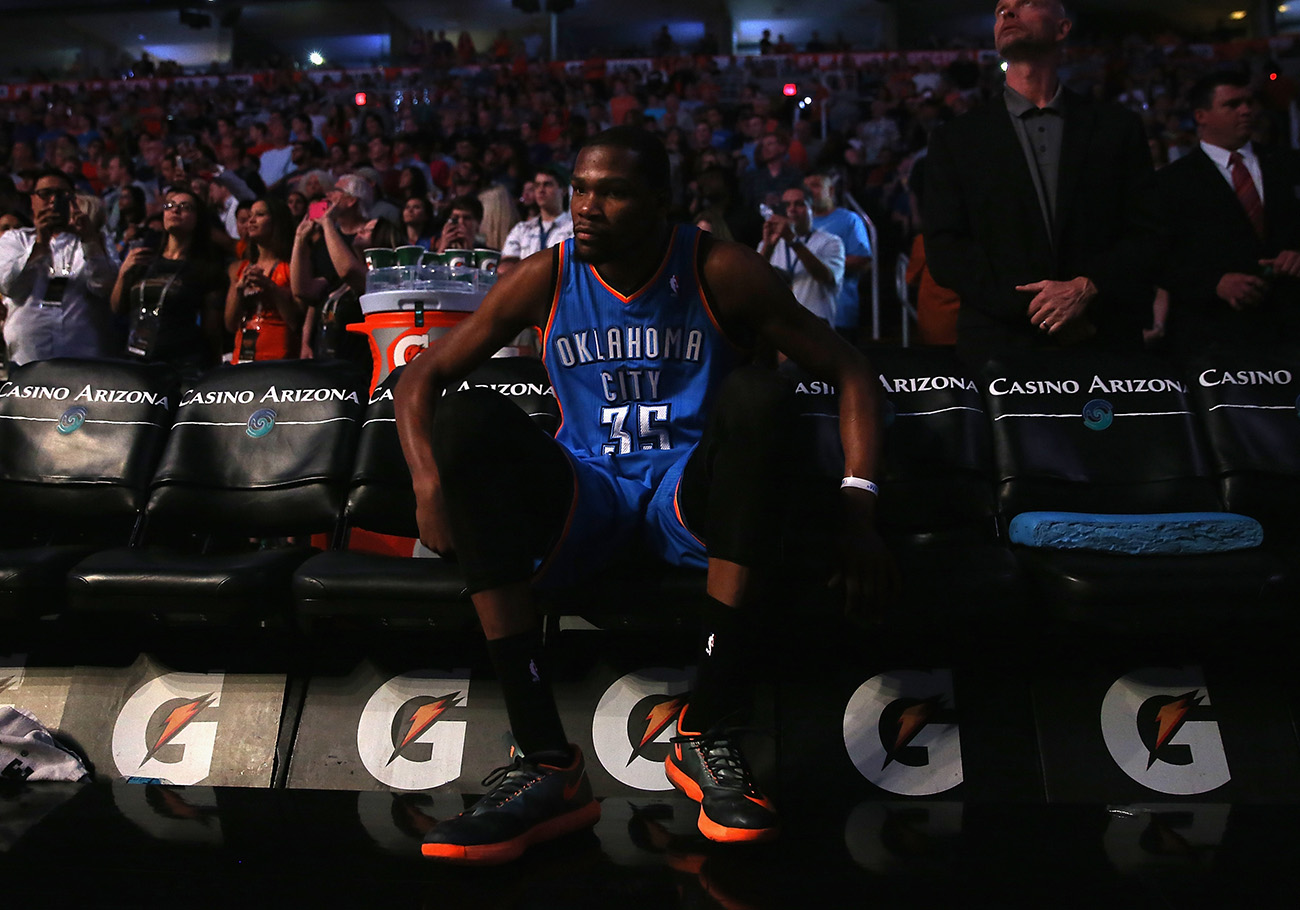 fin de la racha de KEVIN DURANT en viva basquet