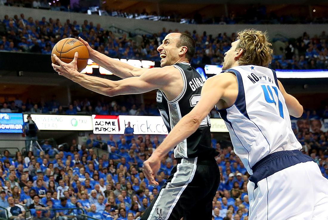San Antonio Spurs v Dallas Mavericks - Game Four playoffs en viva basquet