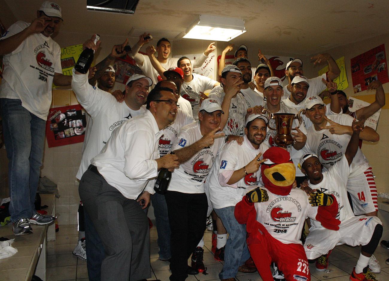 Halcones Rojos  CAMPEONES de la lnbp en via basquet