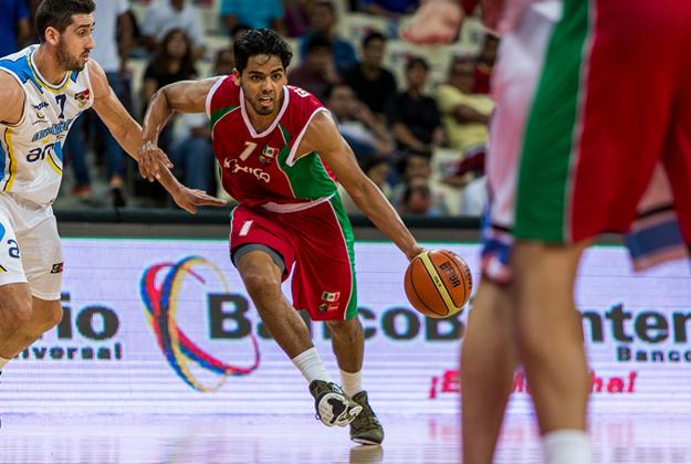 jorge gutierrez en la seleccion mexicana en viva basquet