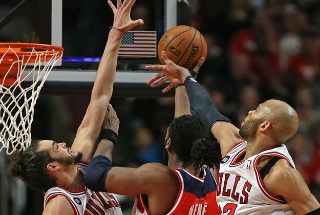 Washington Wizards v Chicago Bulls - Game Five playoffs en viva basquet