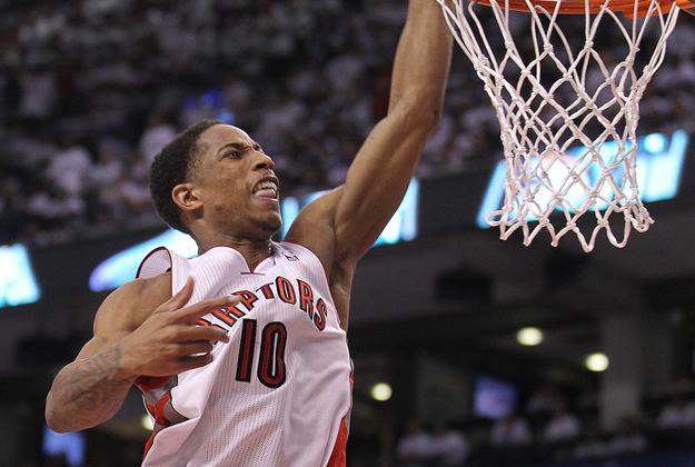 Brooklyn Nets v Toronto Raptors - Game Two of playoffs en viva basquet