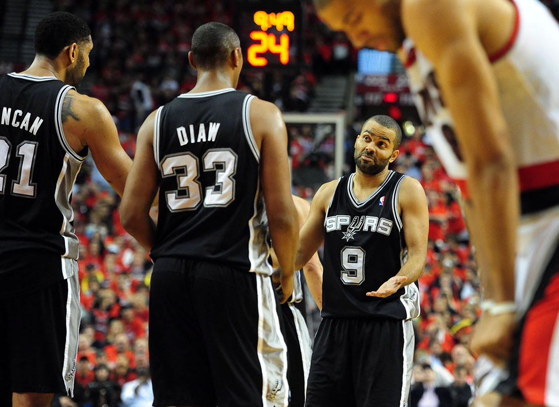 BLAZERS VS SPURS G3 playoffs en viva basquet
