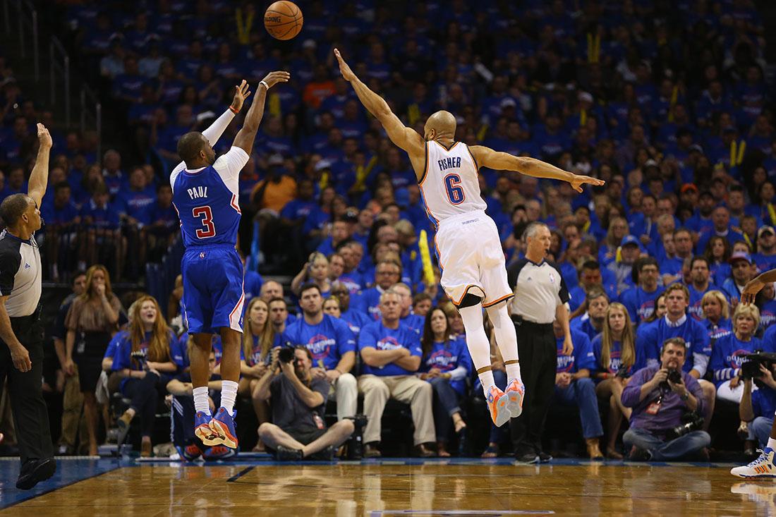CLIPPERS VS THUNDER en los playoffs de la nba en via basquet