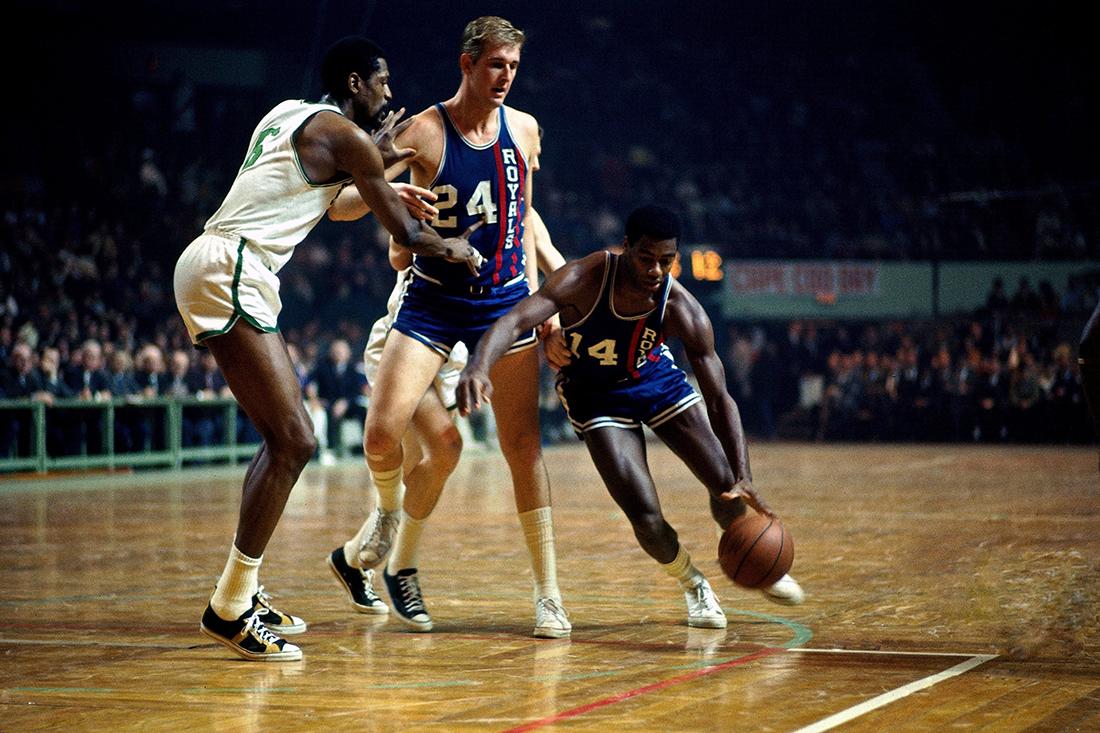 Oscar Robertson en viva basquet