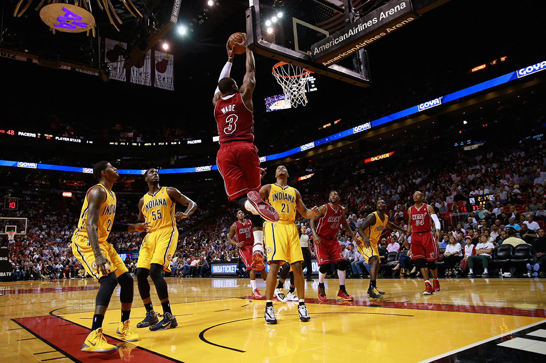 Indiana Pacers v Miami Heat en viva basquet