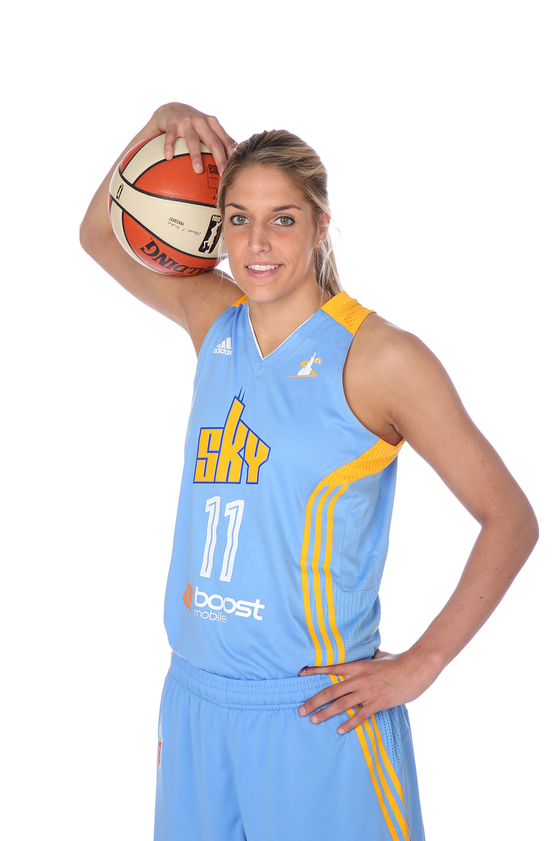 Elena Delle Donne Copyright 2014 NBAE (Photo by Gary Dineen/NBAE via Getty Images