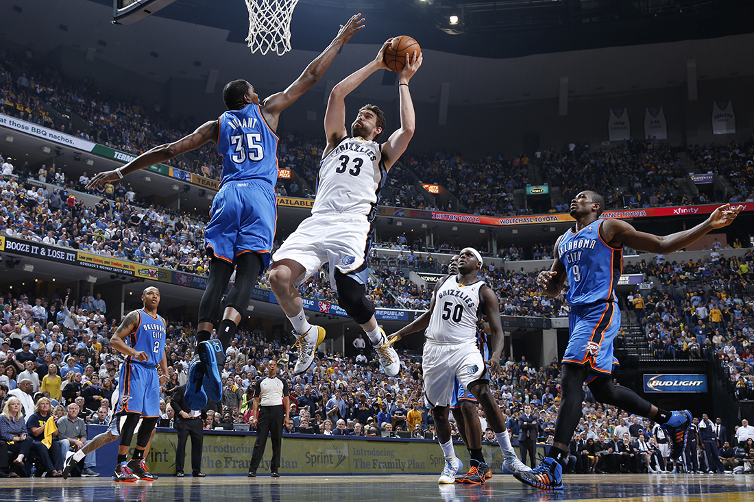 Oklahoma City Thunder v Memphis Grizzlies - Game Six viva basquet