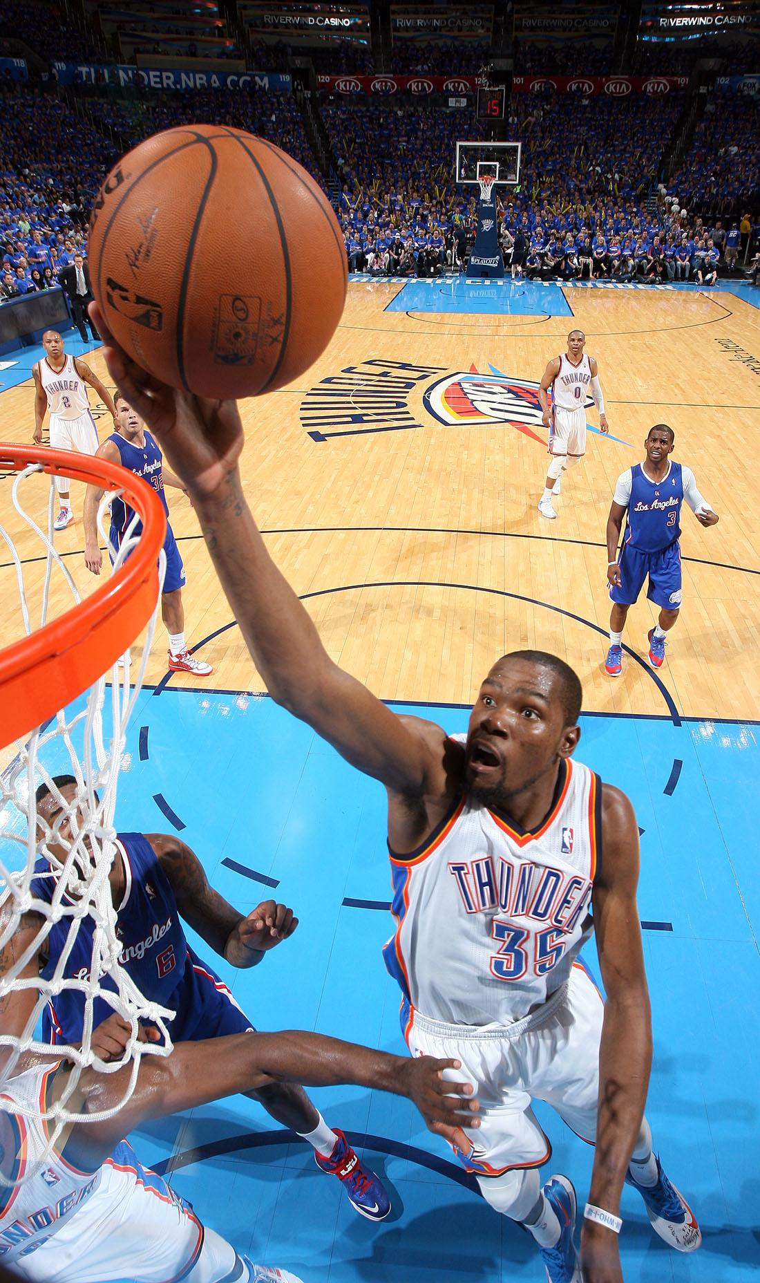 KEVN DURANT MVP en viva basquet