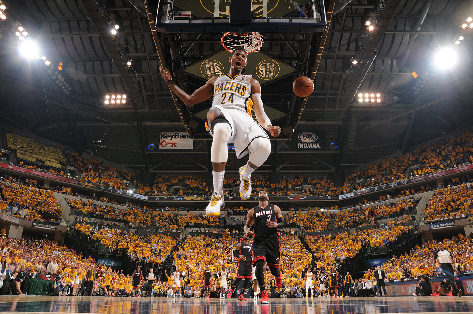 Game Five Miami Heat v Indiana Pacers Easter Conference Finals en viva basquet