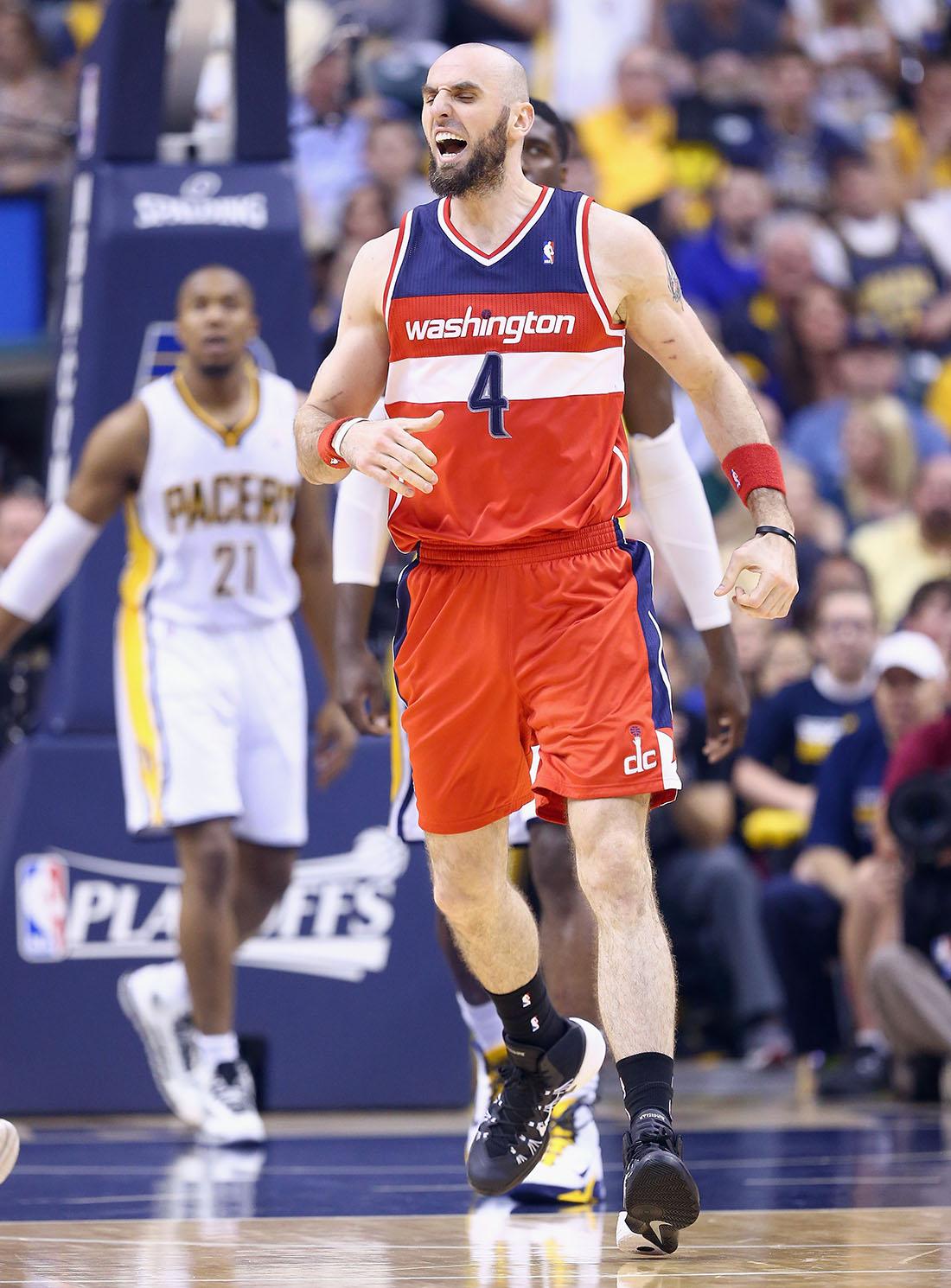 Marcin Gortat en viva basquet