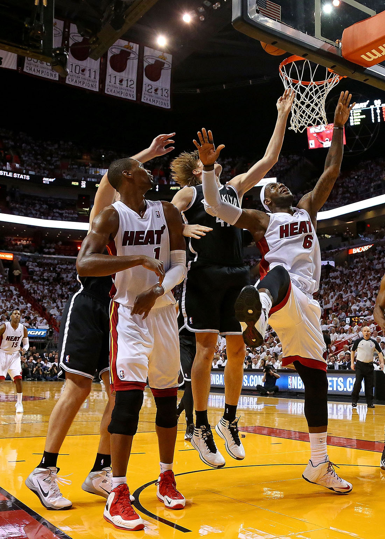 HEAT VS NETS en viva basquet
