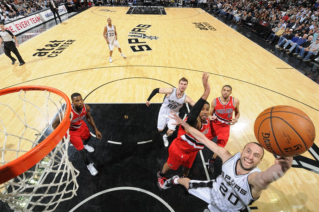SIGUIENTE ROUND 4 de spurs en viva basquet