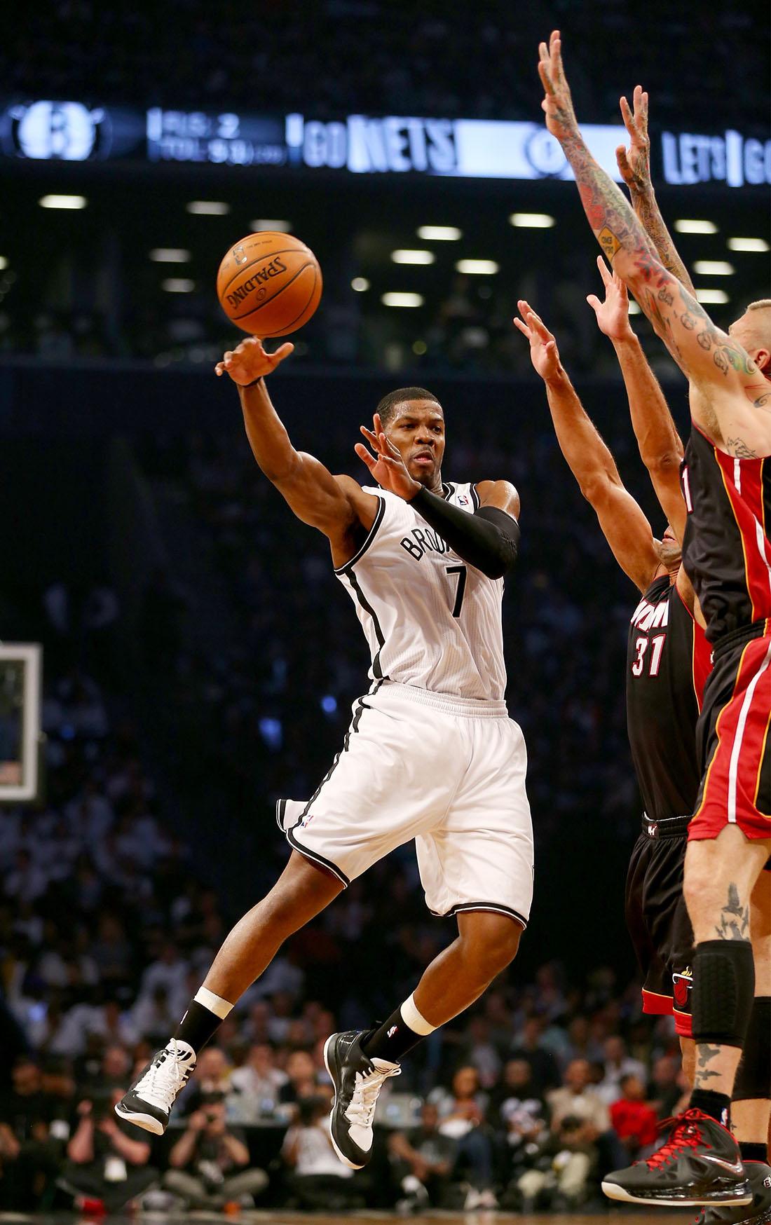 nets en los playoffs contra miami en viva basquet