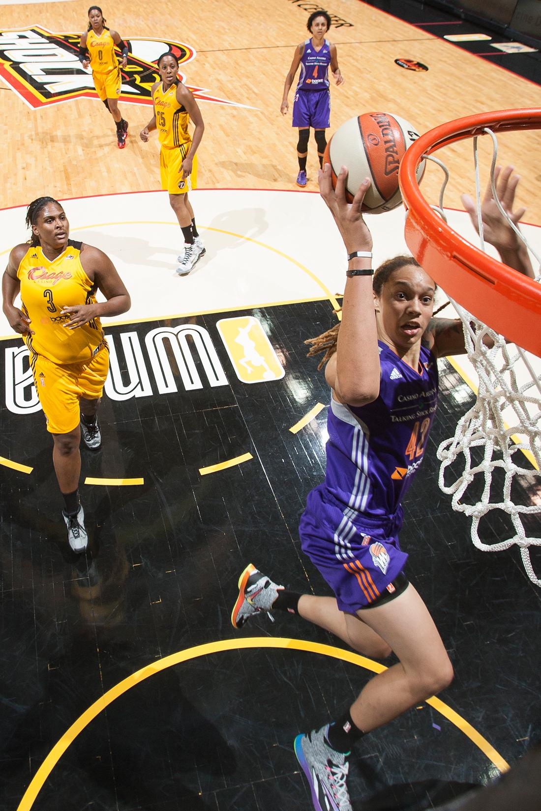 Brittney Griner en viva basquet