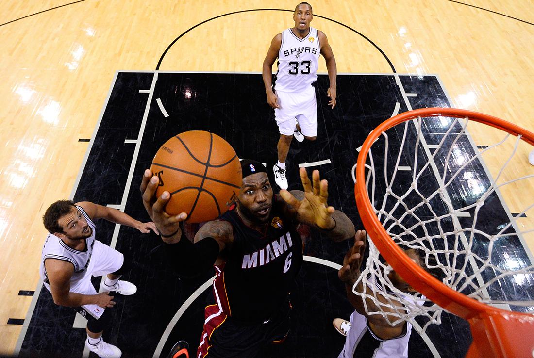 2014 NBA Finals - Game Two lebron james en viva basquet