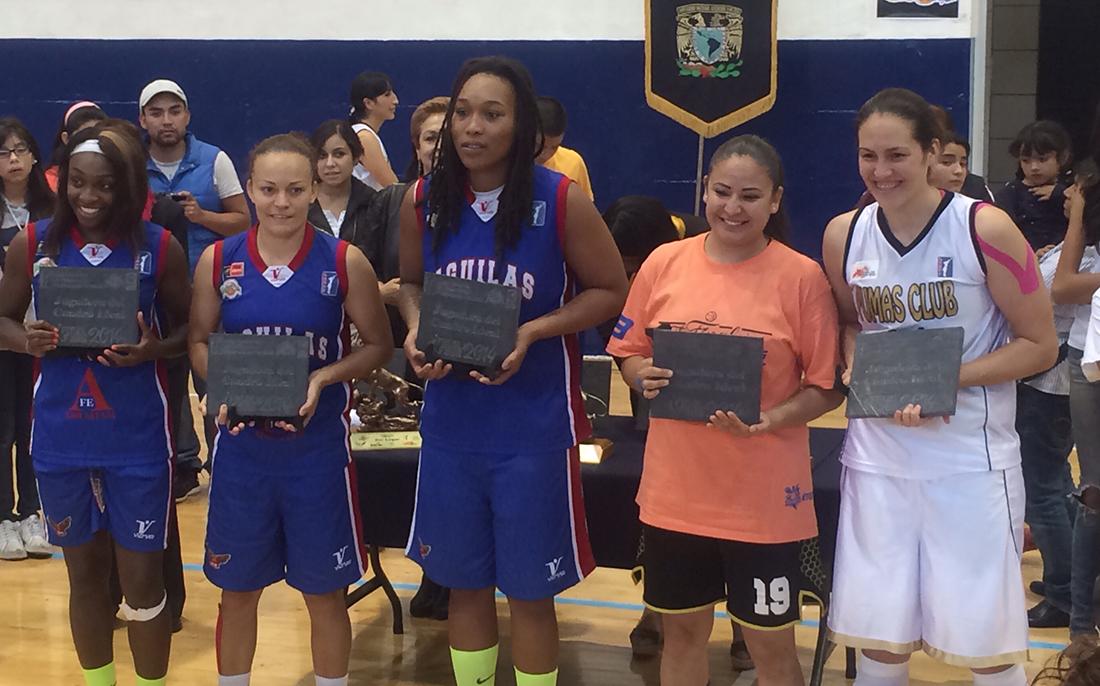 Águilas de Tabasco campeonas de la LNBP Femenil en viva basquet