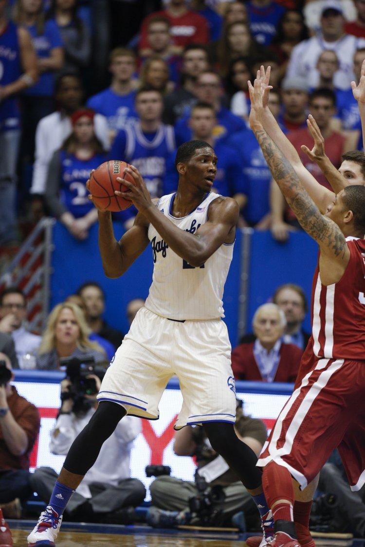 Oklahoma v Kansas en viva basquet