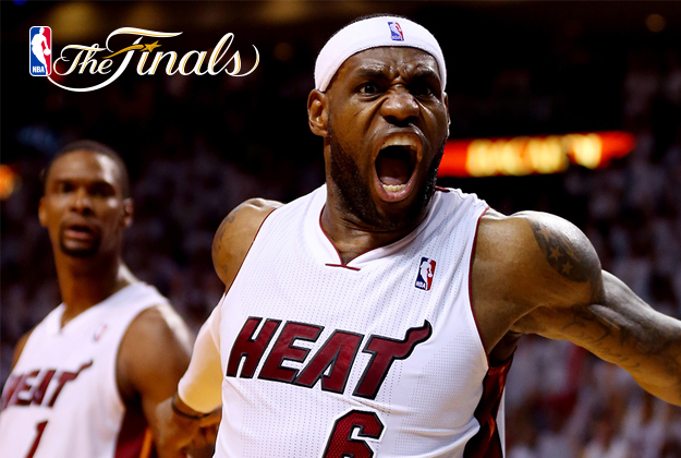 Lebron James de Miami Heat vs Indiana Pacers- Game 4 en viva basquet