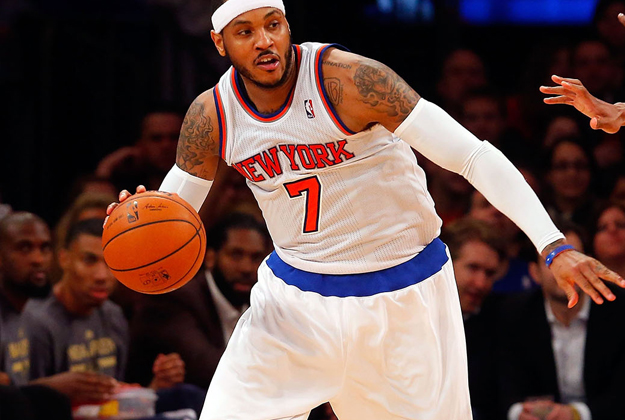 Carmelo Anthony en viva basquet