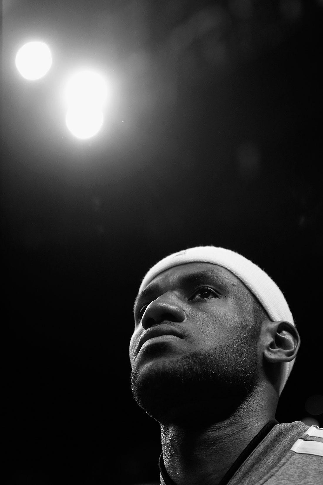 LeBron James por Viva Basquet Photo by Christopher Trotman/Getty Images