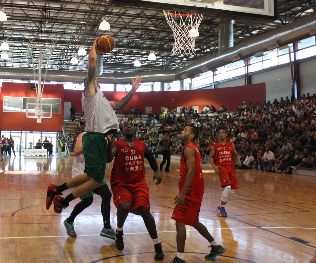 triunfo de la seleccion mexicana en centrobasket en viva basquet