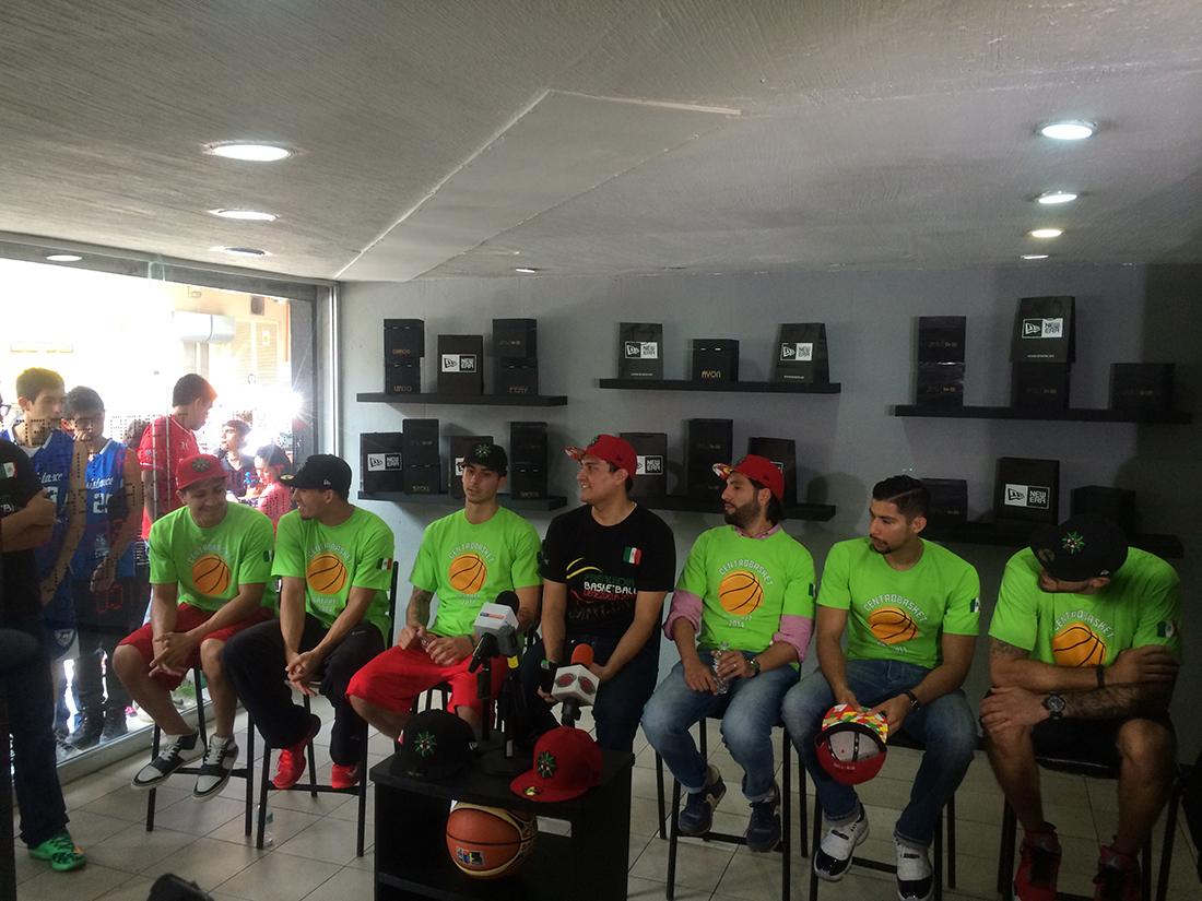 seleccion mexicana va al mundial españa 2014 con nuevas gorras en viva basquet