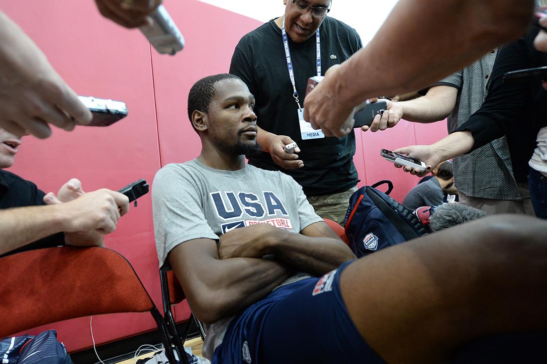 Kevin Durant quire regresar a jugar a casa en viva basquet