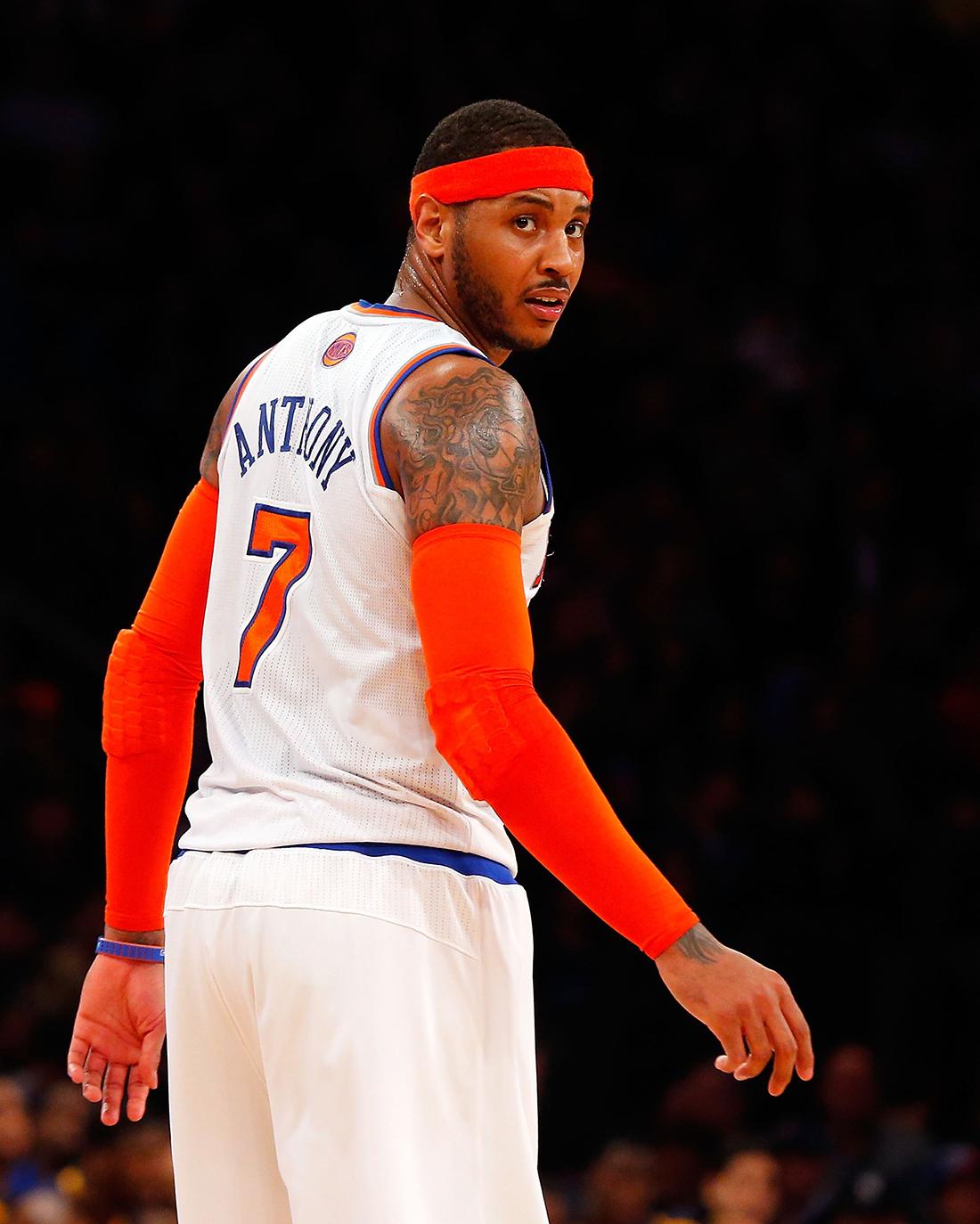 Carmelo Anthony en viva basquet