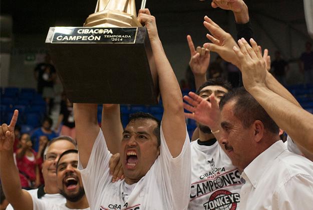 ZONKEYS campeones de la cibacopa 2014 en viva basquet