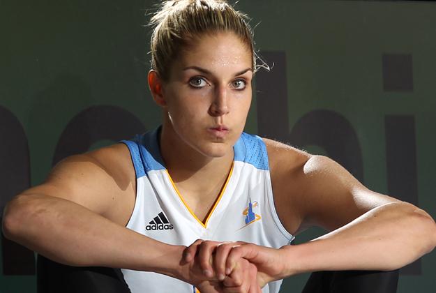 Elena Delle Donne, haciendo la diferencia en viva basquet