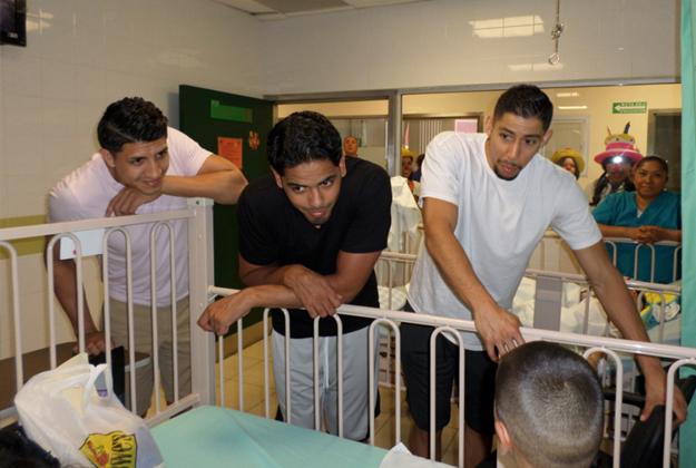 seleccion mexicana de basquetbol sigue con la labor social en CIUDAD JUÁREZ en viva basquet