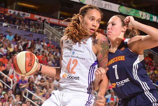 MERCURY la estrella de la WNBA en viva basquet