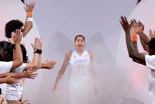 Shoni Schimmel en viva basquet