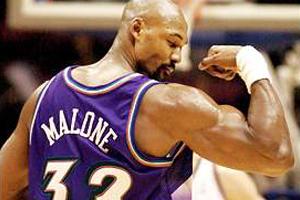 Karl Malone en viva basquet