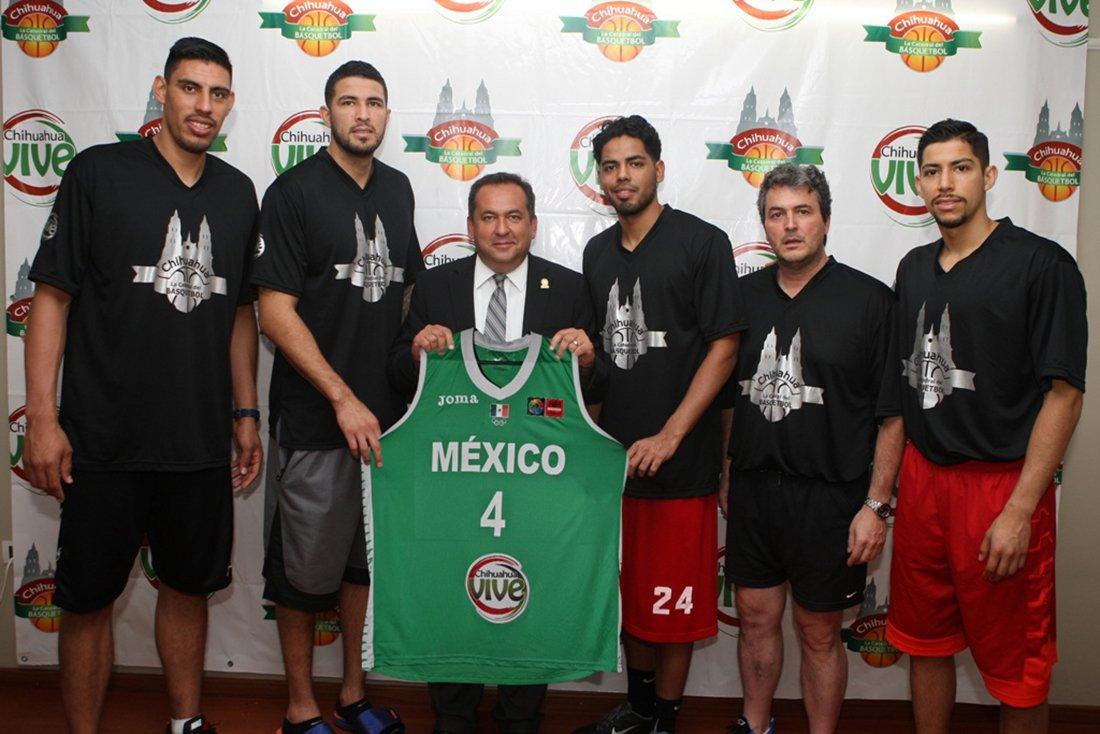 El titulo es la meta de Mexico en Viva Basquet