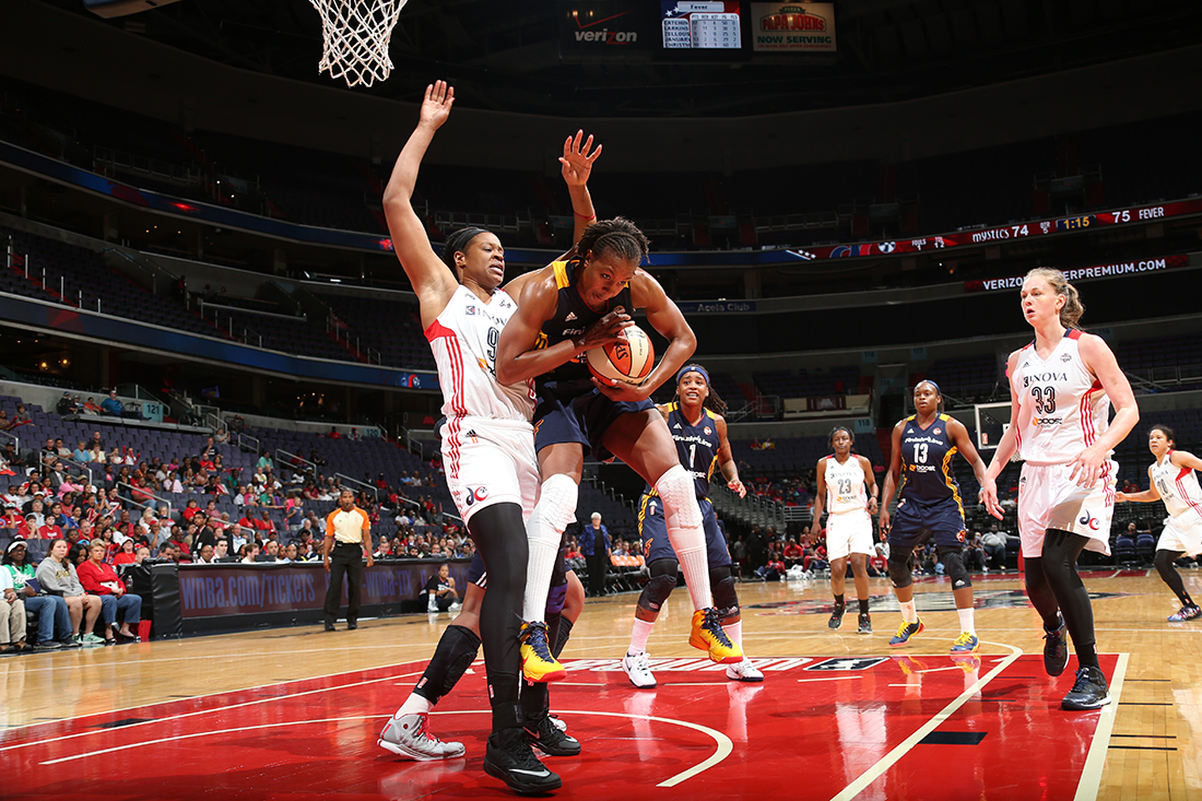 Tamika Catchings en los playoffs en viva basquet