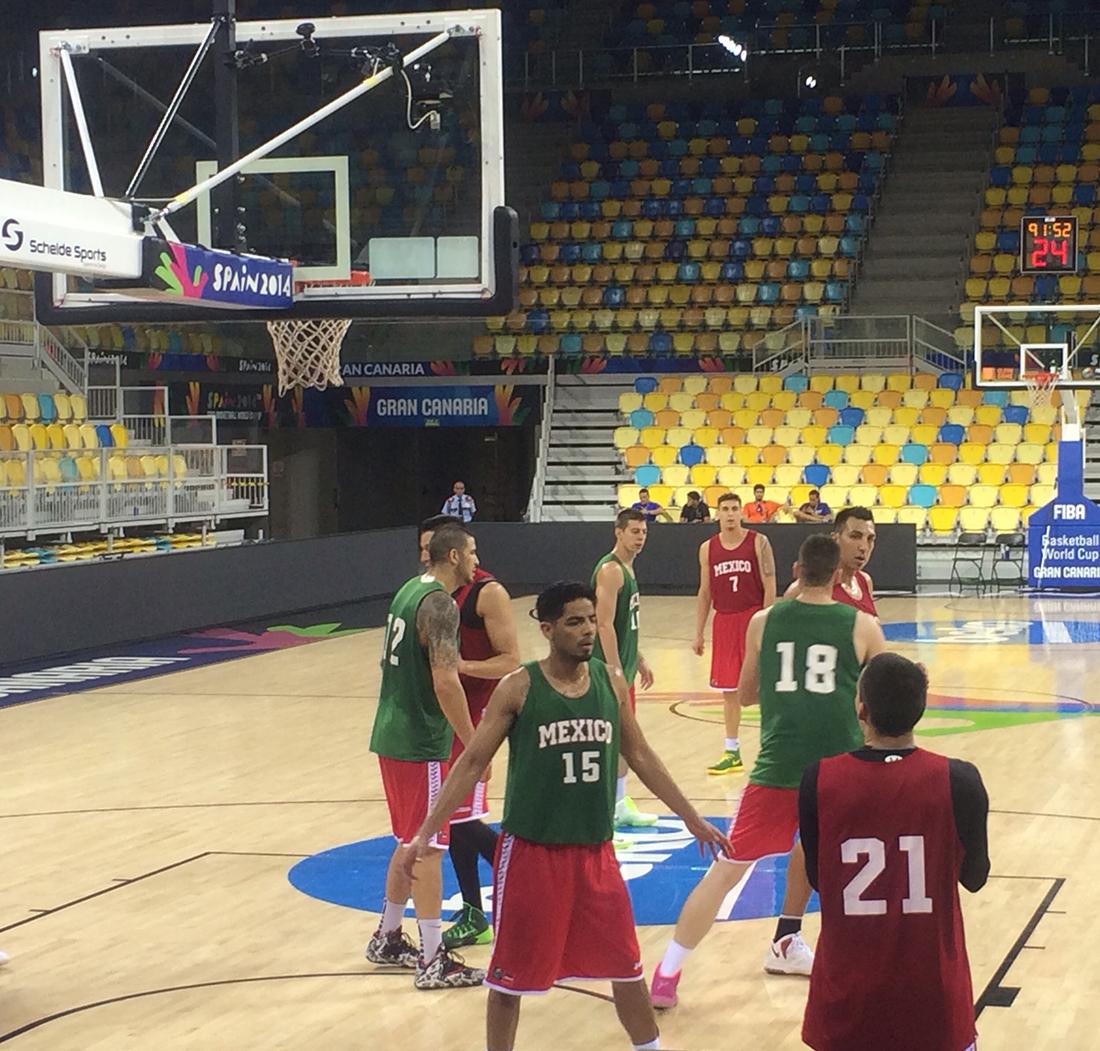 LITUANIA vs mexico en españa 2014 en viva basquet