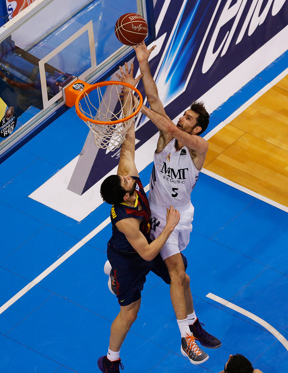 RUDY del real madrid en viva basquet