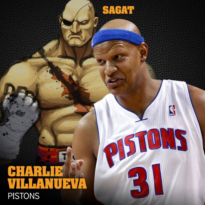 Sagat y charlie en viva basquet