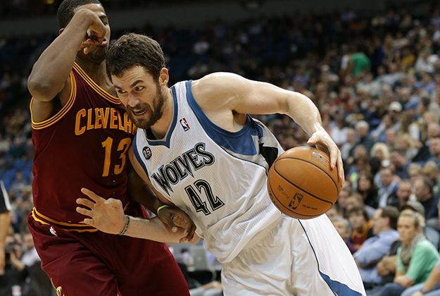 Kevin Love en VivaBasquet / Copyright 2013 NBAE (Photo by Jordan Johnson/NBAE via Getty Images)